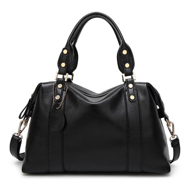 Large PU leather bags ladies bags handbags women famous brands designer shoulder bag high quality tote bag for women<br>