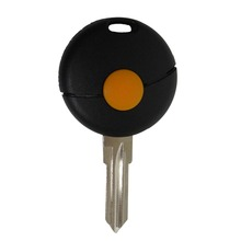 1 Button Remote Car Key Shell For Benz Smart Fortwo Cabrio City Crossblade 1998-2012 Replacement Uncut Blade Flip Fob Case Cover
