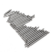 30Pcs/Lot 8-22mm Double Flange Watch for Band Strap Link Pin Spring Bar Tool Watch Repair Tools Kit(China)