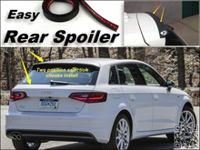 Root / Rear Spoiler For Audi A3 S3 RS3 1996~2015 Trunk Splitter / Ducatail Deflector For TG Fans Easy Tuning / Free Modeling