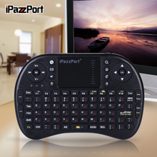 ipazzport Russian Wireless Mini Keyboard And Mouse Touchpad for Android TV Box / Smart TV/Raspberry Pi / Loptop