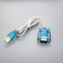 HL-340 New USB to RS232 COM Port Serial PDA 9 pin DB9 Cable Adapter support Windows7-64