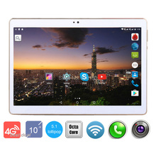 2017 New Android 5.1 Google Play Store 10 inch MT8752 Octa Core 3G 4G Lte tablet pc 5.0MP 4GB RAM 32GB ROM GPS tablet 10.1