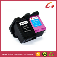 2 Piece Ink Cartridge For HP 122 122XL Ink Cartridge For HP Deskjet 1000 1050 1050A 1510 2000 2050 2050A 3000 3050 3050A Printer(China)