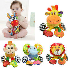 2017 Cute  DIY Baby Stuffed Artificial Simulation Fancy Animal Plush Toy Gifts Lovely KIds Soft Toy