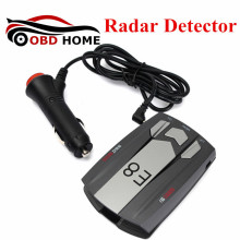 E8 360 Degree Full Band Russian / English Radar Detector E8 Scanning Voice Anti-Police Warning Vehicle Speed Detector X K KU Ka(China)