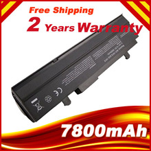9 Cells 7800mAh Laptop battery for  Asus Eee PC 1015 1015P 1015PE 1016 1016P 1215 A31-1015 A32-1015 AL31-1015 PL32-1015 battery