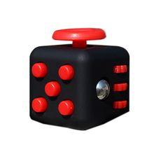 9 Colors  Anti Irritability Toy Magic Cobe Funny Kids Gift Original Fidget Cube Desk Toy Fidget Cube Fidget Spinner Titanium