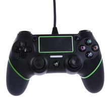USB Wired Controllers Gamepads for PS4 Game Controller Vibration Wired Joystick for PlayStation 4 Console Gamers Not Wireless(China)