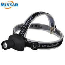 ZK20 600LM Q5 LED Headlight Headlamp Head Lamp Light 3-mode Torch Zoomable Head Torch Bike Light For Camping Hunting Fishing(China)
