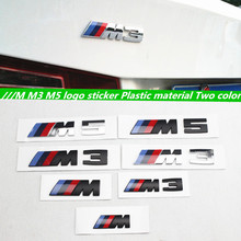 1pcs Original quality ABS M power performance Emblem M sticker M rear emblem for BMW E46 E52 E53 E60 E90 E93 F30 F20 M3 M5 M6