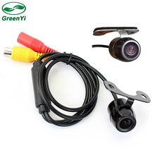 GreenYi Auto Parking Assistance Resolution: 480 TV lines Reverse Backup Rearview Camera CCD Car Rear View Camera(China)