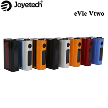 Clearance Price ! E Cigarette Joyetech eVic VTwo 80W 5000mAh Box Mod OLED Screen RTC/VW/VT/Bypass/TCR Modes Firmware Upgrade(China)