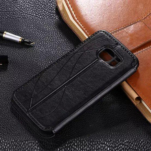original leather case For Samsung galaxy s6 / s6 edge Protective case flip luxury phone cover For samsun s6edge Mobile Phone