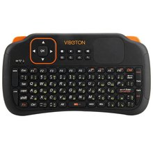 Mini Viboton S1 English Russian 3-in-1 2.4GHz Wireless Keyboard + Air Mouse + Remote Control with Touchpad for Windows Linux