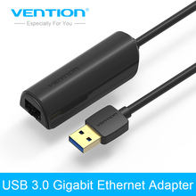 Vention USB 3.0 gigabit ethernet adapter USB to rj45 lan network card for Windows10 8 8.1 7 XP Mac OS laptop PC Chromebook Smart(China)