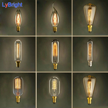 Hot Selling Vintage E14 Edison Bulb 40W 220V Retro Incandescent Light Bulb For Living Room Bedroom Wholesale