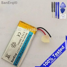 SanErqi 3.7V Li-ion Battery Replacement 330mAh for iPod Nano 6 6th Gen 8GB 16GB with Free Tools