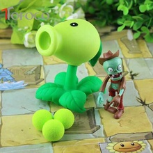 TOFOCO 14 Style Action Figure Toy Hot Popular Game Plants Zombies Peashooter PVC Model Toys 1 Set Funny Toy Gift!
