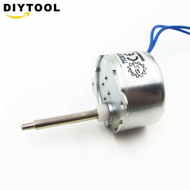 AC 6V 50//60Hz Synchronous Motor Mot 5RPM CW//CCW 1-1.5W For LED Decor TYC30