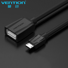 VENTION OTG Adapter Micro USB To USB 2.0 Converter OTG Cable for Samsung S4/S3 i9300 for xioami Android Tablet PC Smart Phone(China)