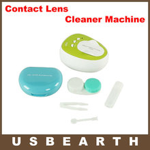 Portable 4ML CE-3200 100-240V Daily Care Mini Ultrasonic Contact Lens Cleaner Machine