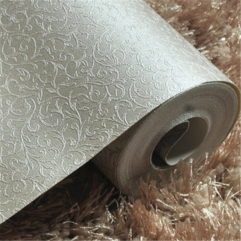 beibehang 3d Floral gold foil wallpaper roll gold embossed background wall wallpaper for living room ceiling wallpaper<br>