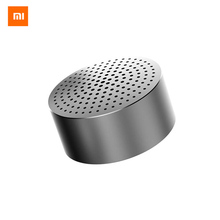 Xiaomi Mi Bluetooth Speaker Portable Wireless Mini Round Box Lourpeaker Metal Steel Stereo HIFI Three Colors New Original(China)