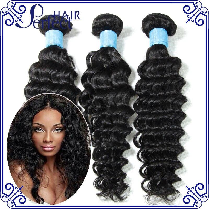 Brazilian deep wave virgin hair unprocessed 6a deep wave brazilian hair natural black color cheap human hair 100g bundles<br><br>Aliexpress