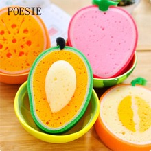 Fashion 3D Sponges&Scouring Newest Fruits House Hold Cleaning Tools&Accessories Kitchen Cleaning Tools