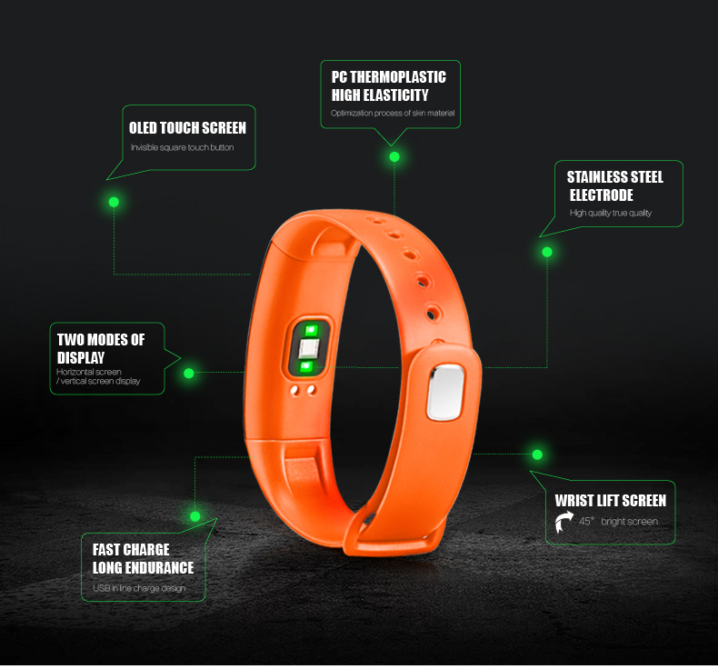 fitness bracelet blood pressure 5
