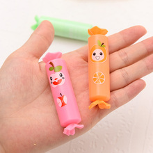 12pcs/lot Creative Candy Shaped Highlighter Pen Set Cartoon Mini Portable Key Point Markers 6 Colors Watercolor Pen Kids Gift WZ(China)