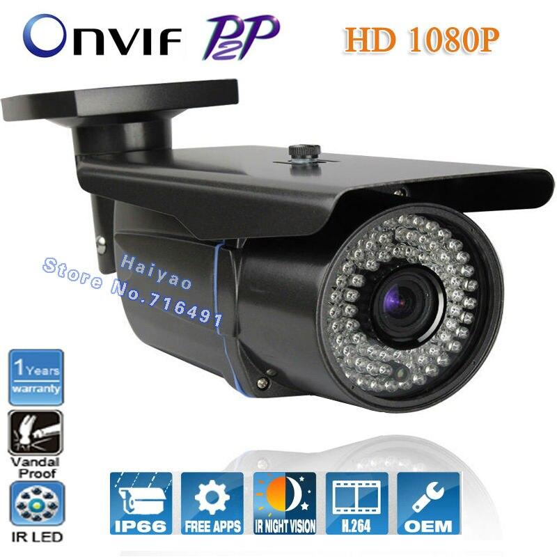 NEW Original 2.0 megapixel Outdoor IP camera 1080P Full HD Onvif IR-Bullet Camera 2MP Waterproof bullet Vandal Proof IP Camera<br><br>Aliexpress