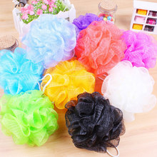 2pcs/lot  Color bath ball bathroom bath flowers rubbing towel kawaii shower bath flowers/bath brush Kawaii Bathroom Accessories
