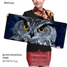 Night Owl Computer Mouse Tablet Pad Animal Mouse Pad Game Gaming Keyboard Mat for Lol League of Legends for Professional Gamer