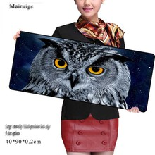Mairuige Night Owl Computer Mouse Tablet Pad Animal Mouse Pad Game Gaming Keyboard Mat for Lol League of Legends for CSGO Gamer(China)