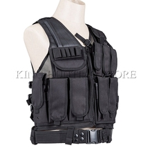 Outdoor Training Vest Airsoft Tactical Mesh Designed With Holster Vest-Tan High End Quality Combat Vest Tactical Vest