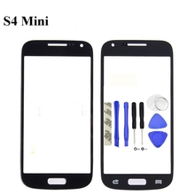 Vecmnoday 4.3'' High quality Front Outer Glass Lens Screen Replacement For Samsung Galaxy S4 Mini i9190 i9195 i9192 + Tools(China)