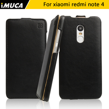 IMUCA for Xiaomi Redmi Note 4 case cover xiaomi redmi note 4 pro note 4 Prime PU Leather Cases Coque Fundas Carcasa phone cases