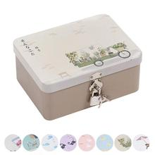 Colorful tin jewelry candy box Sealed jar packing boxes small storage boxes cans Coin earrings headphones gift box  15