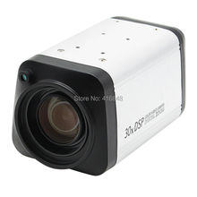 960P WDR Auto IRIS DSP AHD camera 30X digital zoom All in one video Camera 1/3 cmos 0130+2431H 1.3MP AHD box CCTV video camera
