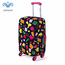 "Fashion Suitcase Luggages Protective Cover Travel Trolley Case Dustproof Protector S/M/L/XL Apply to 18"" ~ 32"" Traveling Cases(China)"