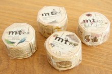 MT EX Series Masking Tape Animals Plants Minerals Solar System Numbers Washi Tape Japan