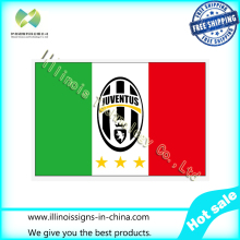 Juventus Football Club Football Team Flag 3X5 Ft Custom Banner 90x150cm Sport Outdoor Three Stars