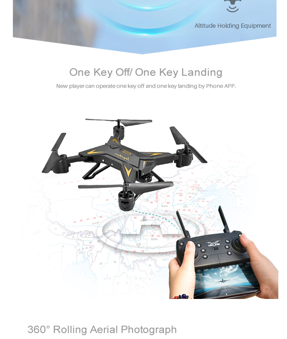 T-Rex RC Helicopter Drone with Camera HD 1080P WIFI FPV RC Drone Professional Foldable Quadrocopter Long Battery Life 8