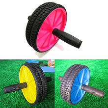 1 Piece Dual ABS Abdominal Roller Wheel Workout Exerciser Fitness Gym Roller Exercise