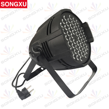 SONGXU DMX Stage Light 54 LED RGB 3in1 LED Par Cans Light LED Par 64 Light/SX-PL54A