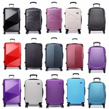 KONO Brand Rolling Luggage Suitcase Travel Business Boarding Trolley Case Bag Hard Shell 4 Spinner Wheels PC 24 Inch Many Styles