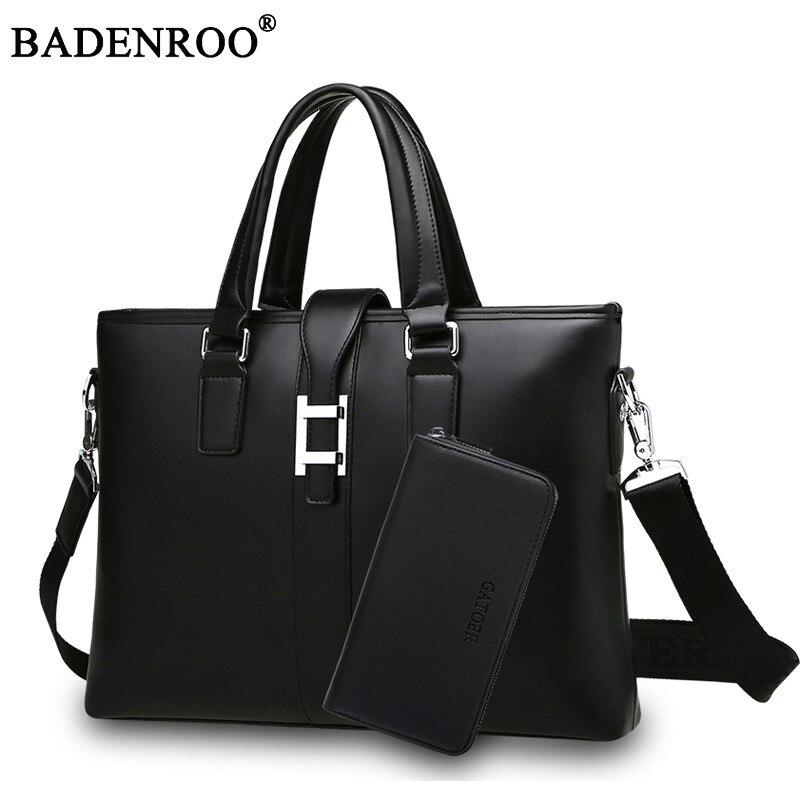 2017 New Men s Handbag Casual soft Leather Bags Men Horizontal Business Briefcase  Shoulder Messenger Bags Fashion<br>