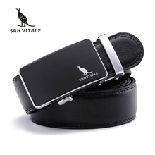 Mens Belts for Male Waistband Removable Trimmer Buckles Men Real Leather belt Brand Casual Design Buckle high quality ratchet(China)